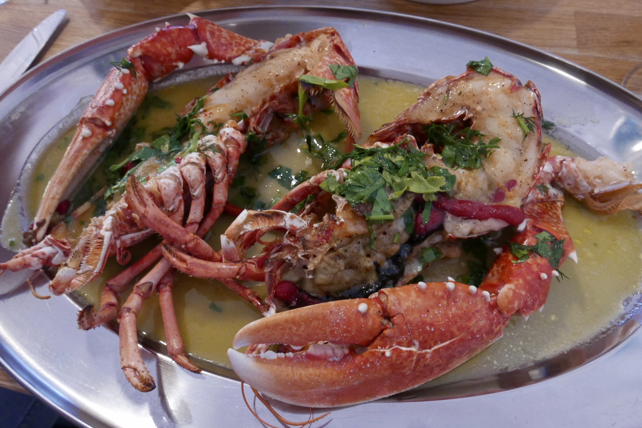 The Fish House Fistral Lobster