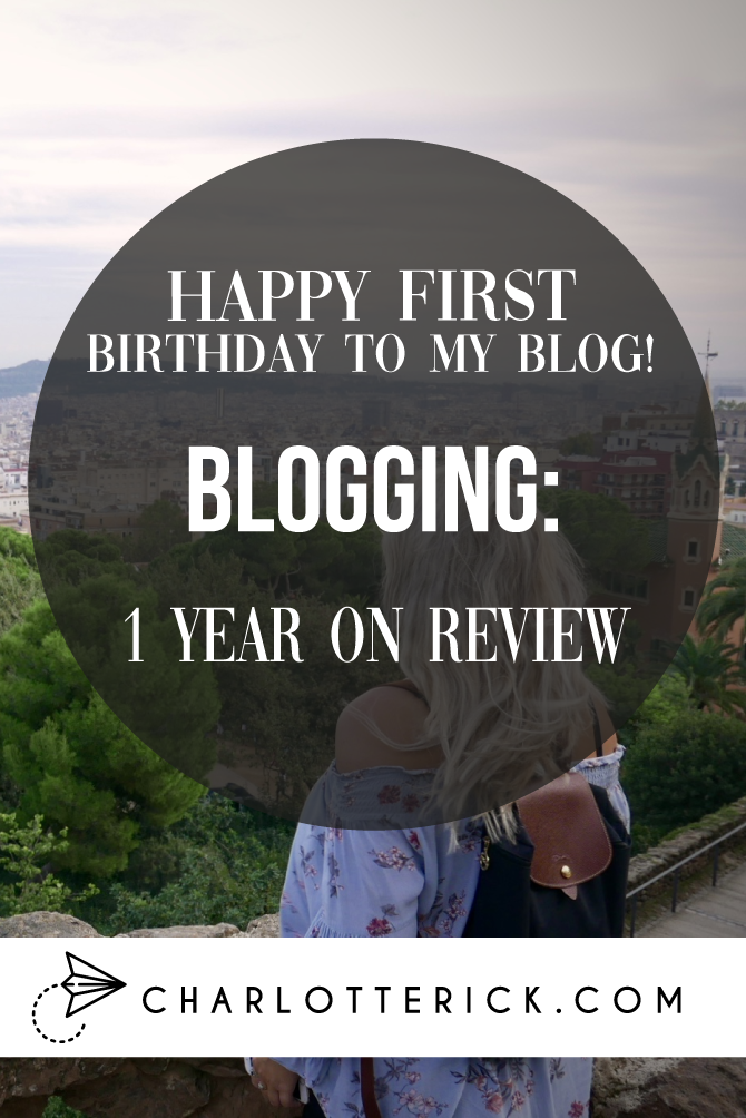 Blogging 1 year on reviewa