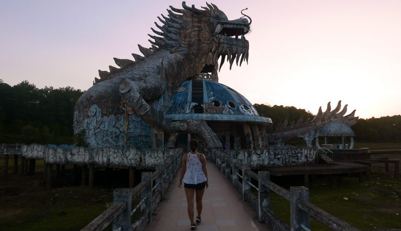 Discovering Vietnam's Abandoned Water Park