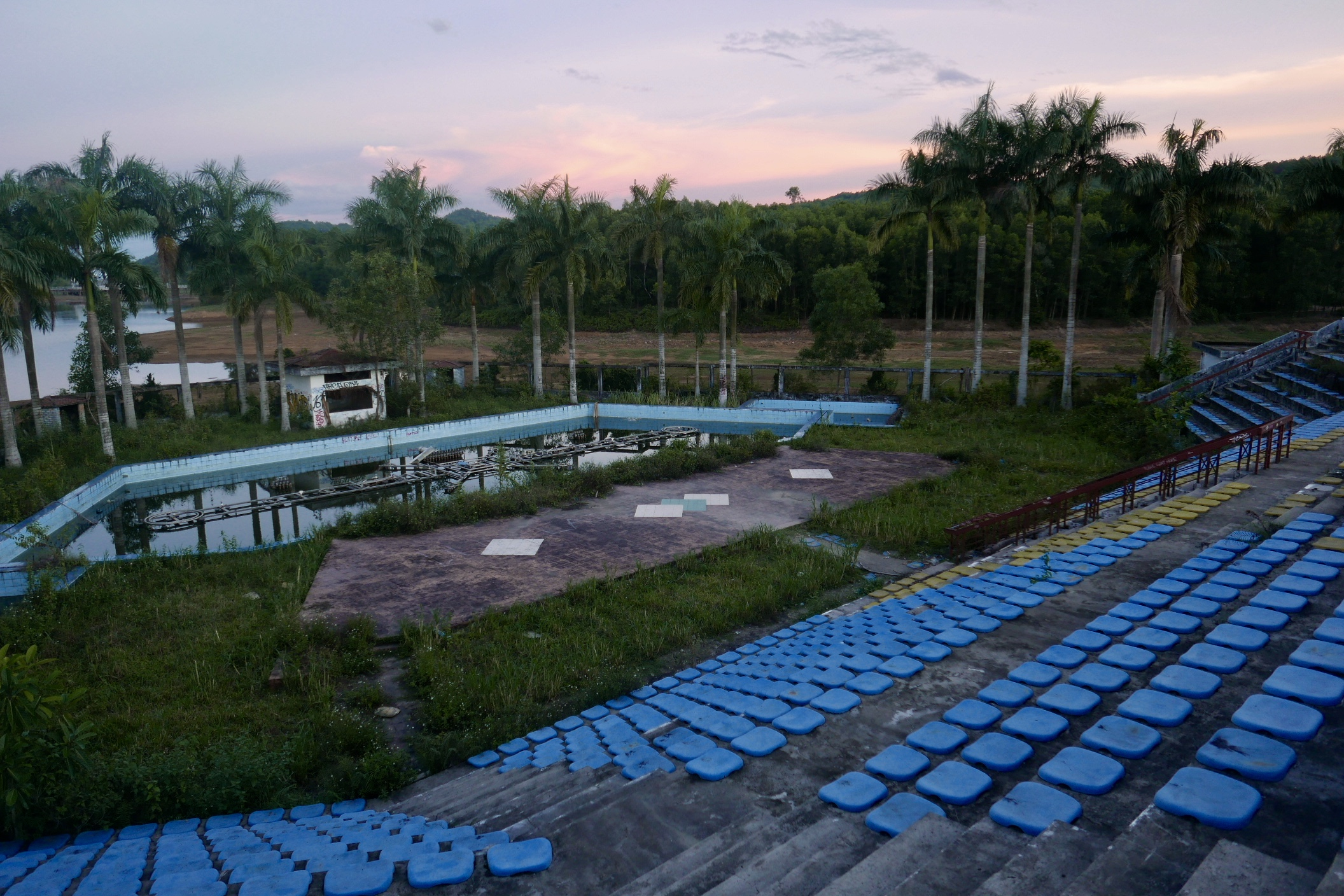 Abandoned Waterpark in Hue, Vietnam