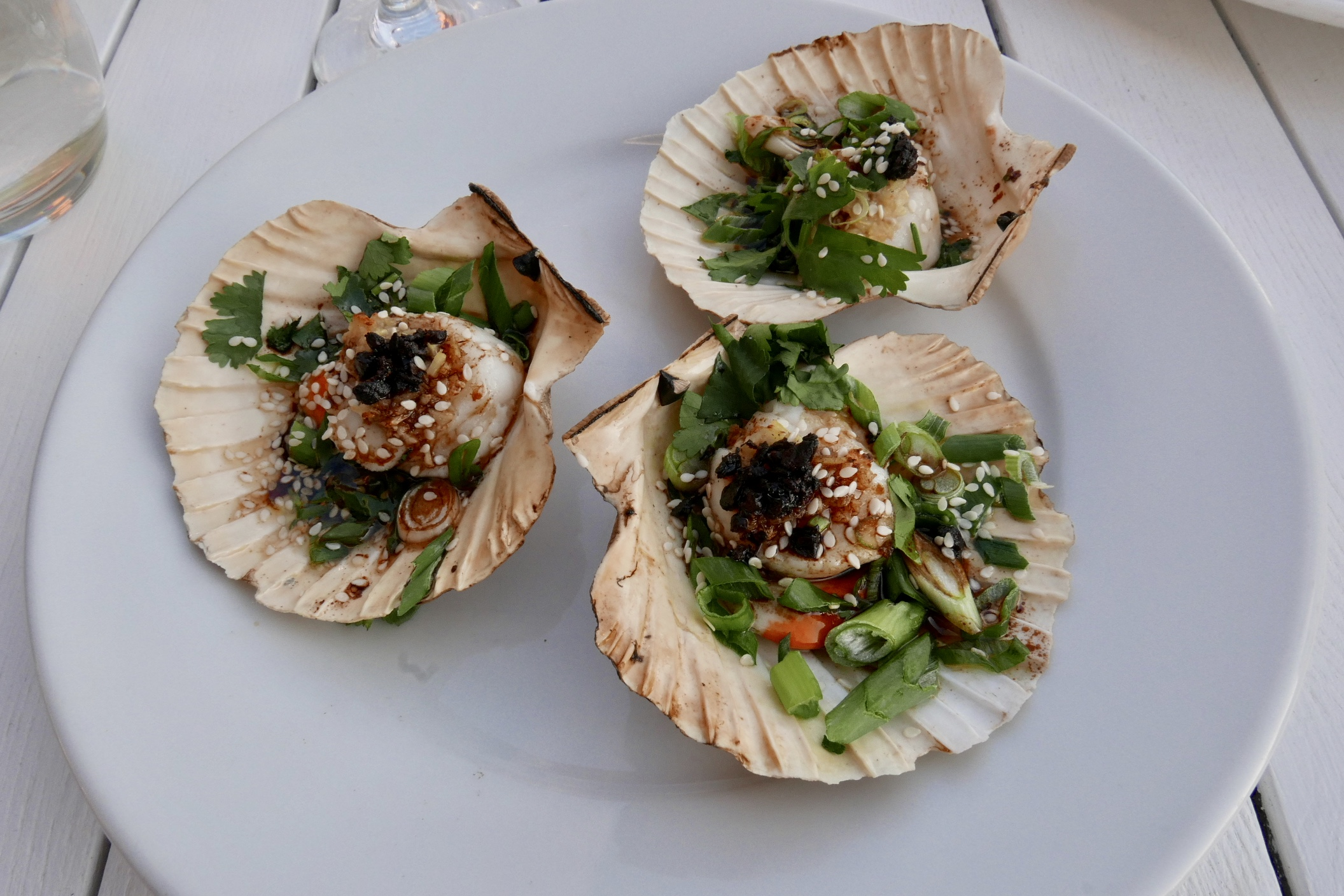 The Fish House Fistral Scallops
